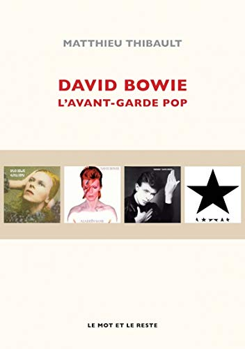 9782360542284: David Bowie : l'avant-garde pop