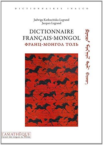 Dictionnaire français-mongol