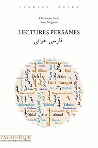 9782360570508: Lectures persanes
