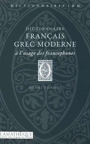 Dictionnaire français-grec moderne: Tonnet, Henri