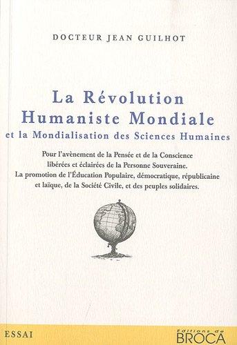 9782360710362: La R�volution Humaniste Mondiale