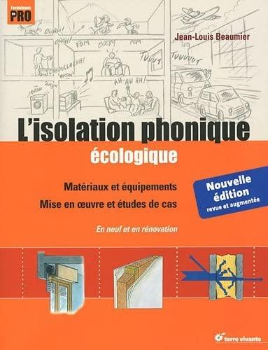 9782360980475: L'isolation phonique écologique