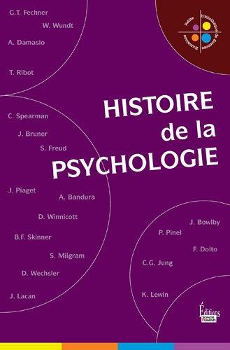 Histoire de la psychologie: Collectif