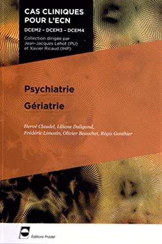 9782361100346: Psychiatrie geriatrie