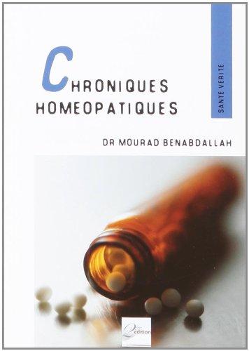 9782361210205: Chroniques hom�opathiques : Quelques principes et digressions