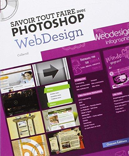 9782361450335: Savoir tout faire avec Photoshop Webdesign (1Cédérom)