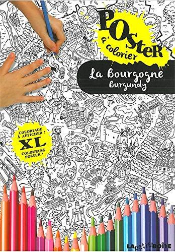 9782361521578: La Bourgogne : Poster à colorier