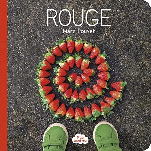 9782361540968: P'Tit Land Art Rouge