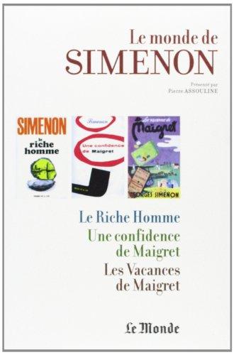 9782361560621: le monde de simenon t.9 vendee