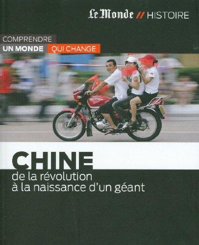 9782361560911: CHINE-DE LA REVOLUTION A NAISSANCE GEANT