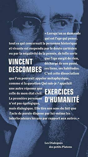 9782361650377: Exercices d'humanité