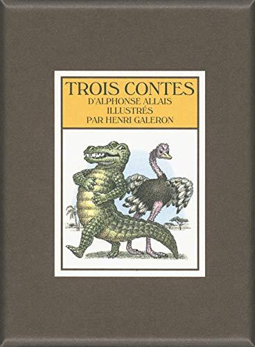 9782361933807: Trois Contes: Conte à Sara - La vengeance de Magnum - Le Crocodile et l'Autruche