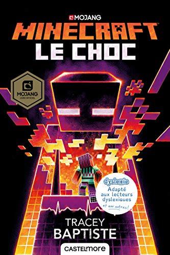 9782362312380: Minecraft officiel : Le choc (version dyslexique)