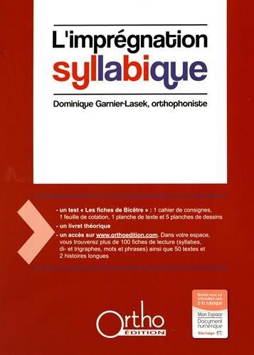 9782362350375: L'impr�gnation syllabique (1C�d�rom)