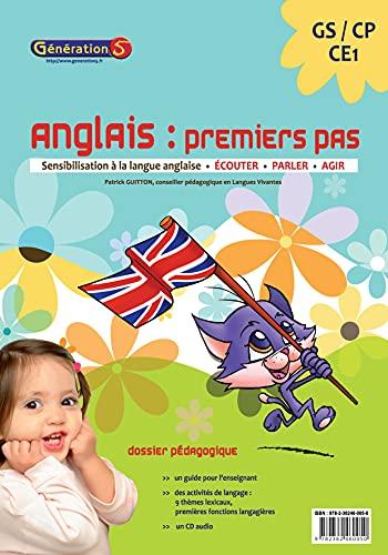 9782362460050: anglais premiers pas : sensibilisation a la langue anglaise gs-cp-ce1