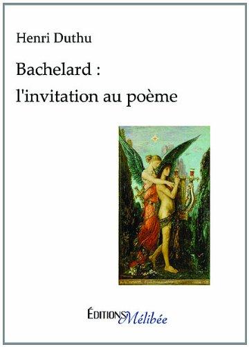 9782362520525: Bachelard : L'invitation au poeme (French Edition)