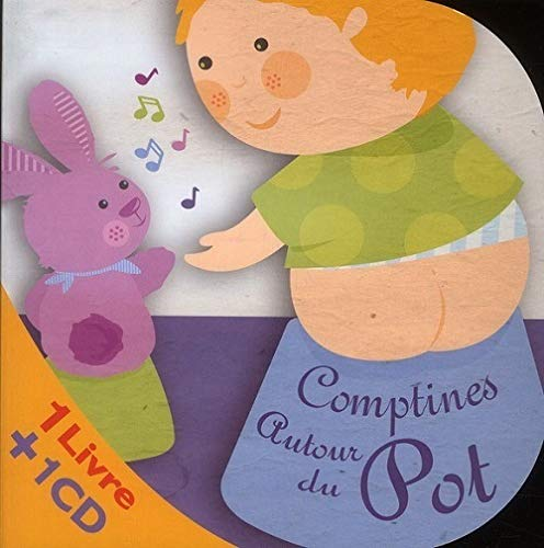 COMPTINES AUTOUR DU POT LIVRE + 1 CD: COLLECTIF