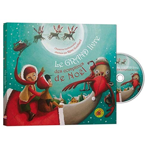 9782362560255: Le grand livre des comptines de Noël (1CD audio)