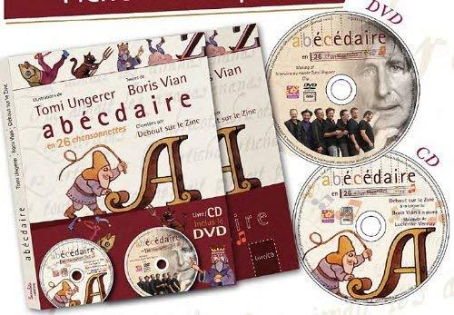 9782362560668: L'abécédaire en 26 chansonnettes (1DVD + 1 CD audio)
