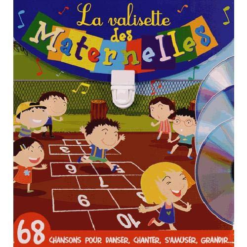 9782362561115: La valisette des maternelles : Coffret 2 volumes : Les p'tits curieux de maternelle ; Chante en maternelle (3CD audio)