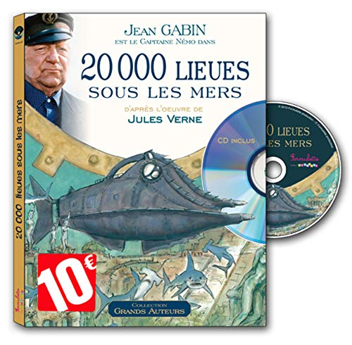 9782362561979: 20 000 lieues sous les mers (1CD audio)