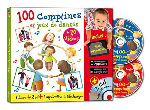 9782362562013: 100 comptines et jeux dansés (2CD audio)