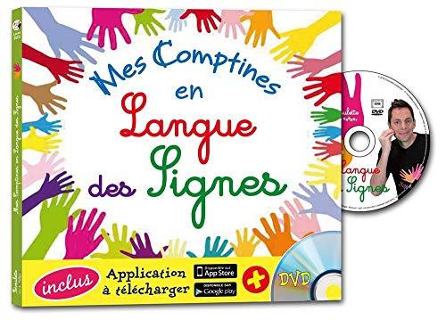 9782362562105: Mes comptines en langue des signes (1DVD)