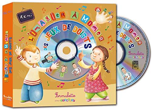 IMAGIER A MIMER DES JEUX DE DOIGTS + CD: REMI BRUNO