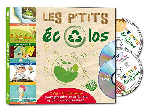 9782362562228: Les p'tits �colos (1CD audio)