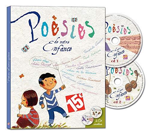 POESIES DE NOTRE ENFANCE: LIVRE + CD
