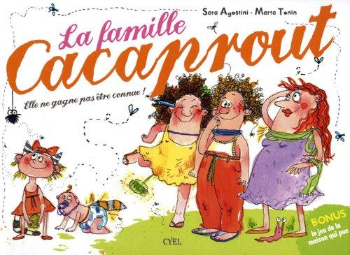 9782362610240: La famille Cacaprout : Comptine dégoûtante, drôle et distrayante