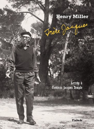 9782363390066: Frère Jacques : Lettres à Frédéric Jacques Temple (1948-1980)