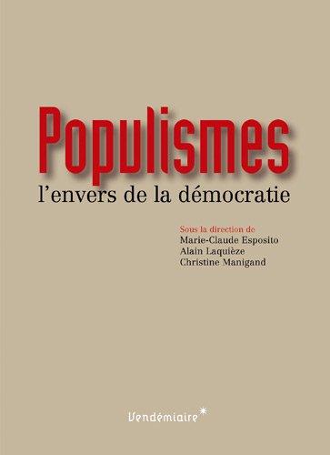 Populismes: Esposito, Marie-Claude