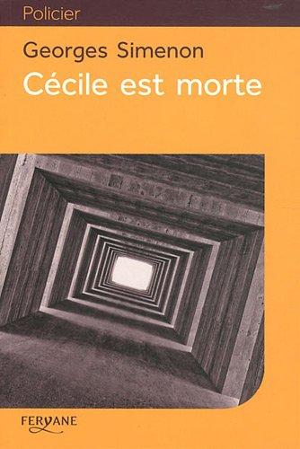 9782363600295: Cécile est morte