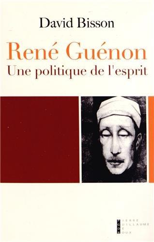 9782363710581: René Guénon (French Edition)