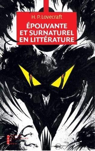 9782363710796: Epouvante et surnaturel en littérature