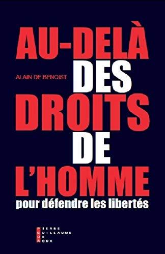 9782363711540: Au-delà des droits de l'homme