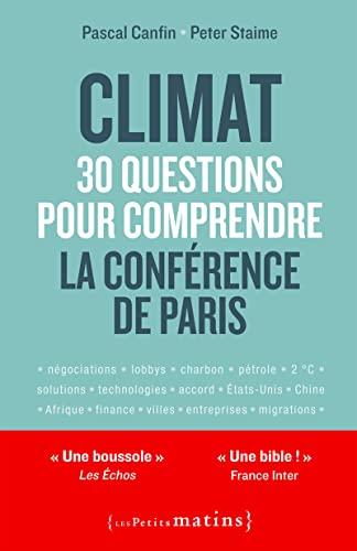 9782363832054: Climat : 30 Questions pour Comprendre la Conference de Paris