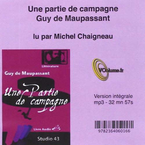 9782364060166: Une Partie de Campagne