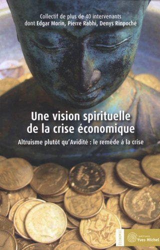 9782364290129: vision spirituelle de la crise economique (une)