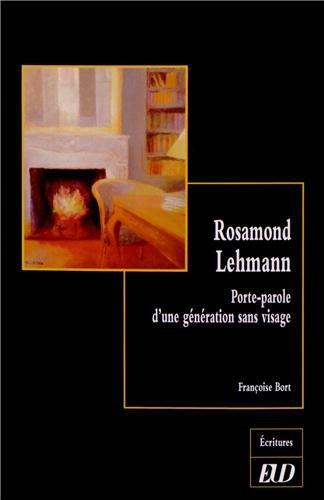 9782364410459: Rosamond lehmann