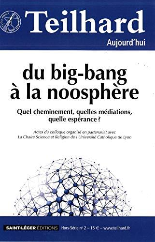 9782364520578: N 49 - Teilhard Aujourd'Hui Hors-Serie 2 - Mars 2014 - du Big-Bang a la Noosphere