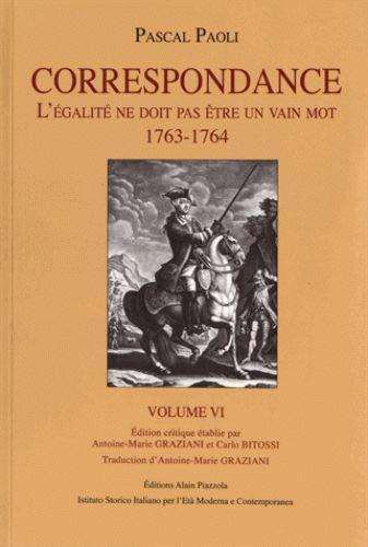 9782364790391: Pascal Paoli, correspondance : Volume 6