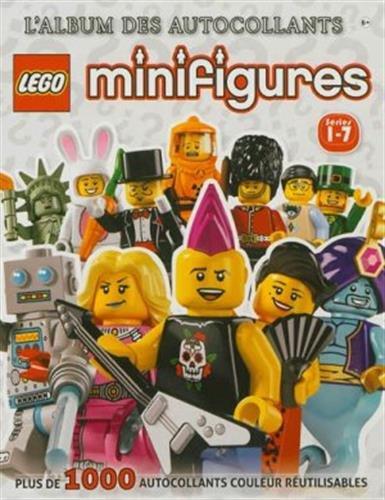 9782364800557: Lego minifigures Séries 1-7 : L'album des autocollants