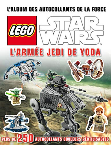 9782364802049: Lego Star Wars, L'album des autocollants 6 : L'armée Jedi de Yoda