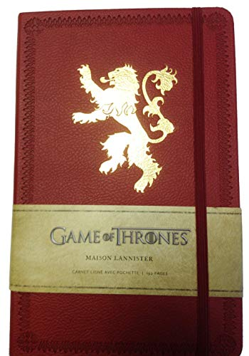 9782364802148: Game of Thrones (le Trône de Fer) Carnet Luxe Lannister