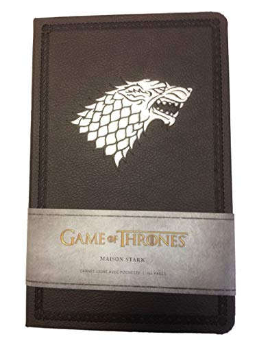 9782364802155: Game of Thrones (Le Trône de Fer) - Carnet Luxe Stark