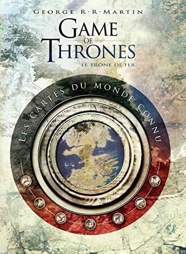 9782364802667: Game of Thrones : Toutes les cartes du royaume