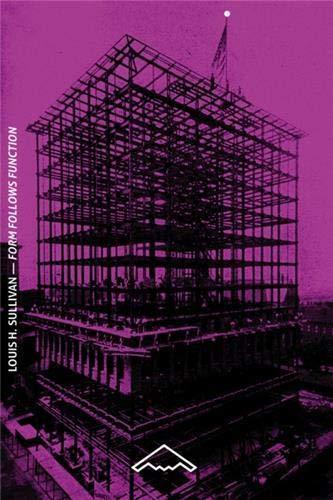 9782365090032: Form Follows Function De la tour de bureaux artistiquement considérée