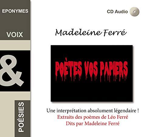 9782365160919: Madeleine Ferre Poetes Vos Papiers